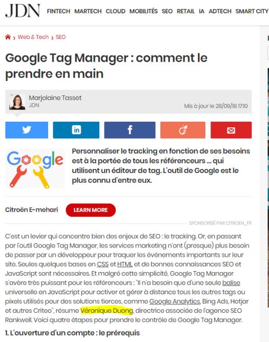 journal-du-net-veronique-duong-seo-google-tag-manager