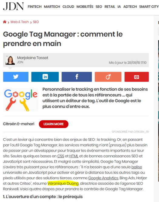 journal-du-net-veronique-duong-seo-google-tag-manager