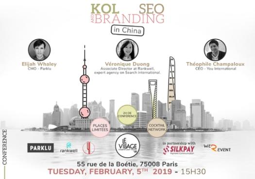 KOL x SEO en Chine - Conférencière SEO international - Véronique DUONG