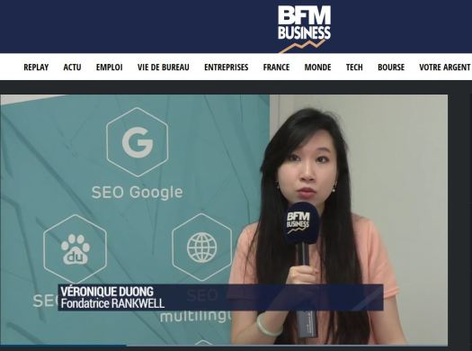 veronique-duong-interview-rankwell-seo-baidu-bfmtv-bfm-business